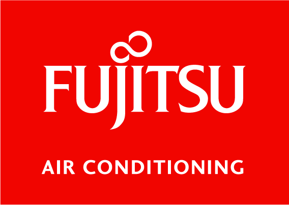 FUJITSU AIR CONDITIONING - Standard Version - White on Pantone 485